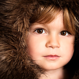 Hooded Bunny by Chinchilla  Photography - Babies & Children Toddlers ( brown eyes, little boy, toddler, hood )
