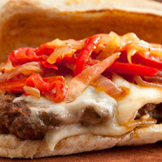 Italian Venison-Sausage Sandwiches with Peppers and Onions Recipe