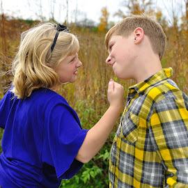 Brother and Sister love by Denise McCool - Babies & Children Children Candids (  )