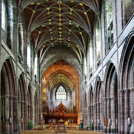 Chester Cathedral by Nerijus Liulys - Buildings & Architecture Places of Worship ( interior, building, hdr, church, cathedral,  )