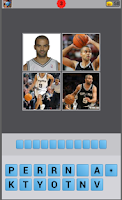 Screenshot of Basketball Player Quiz