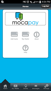 Mocapay Wallet - screenshot
