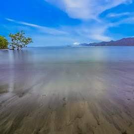 serenity in the silence by Harold Buyung - Landscapes Beaches ( nature, indonesia, papua, landscape )