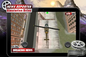 Screenshot of News Reporter Simulation Drive