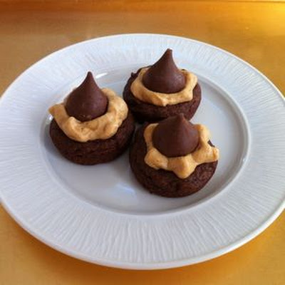 Chocolate Peanut Butter Kisses