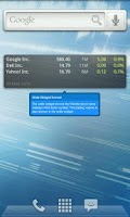 Screenshot of Ministocks - Stocks Widget