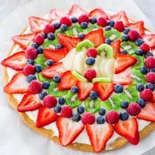 Cream Cheese Sugar Cookie Fruit Pizza Recipes