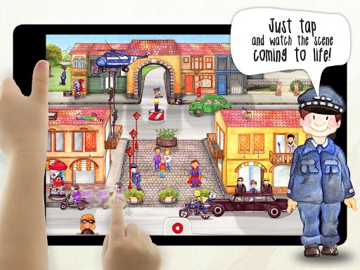 Tiny Firefighters Seek & Find - screenshot