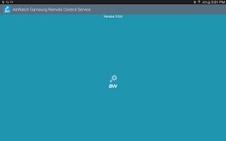 Screenshot of AirWatch Samsung RC Service