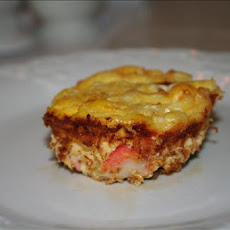 Crustless Crab Quiche