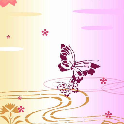 桜と蝶 個人化 App LOGO-APP開箱王