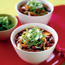 Red Bean and Poblano Chili