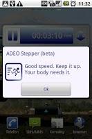 Screenshot of ADEO Stepper (beta)