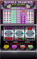 Screenshot of Double Diamond Slot Machine