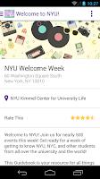 Screenshot of NYU Guide