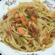 Chilli Crusted Chicken Noodles