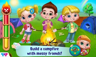 Screenshot of Messy Summer Camp Adventures