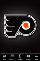 Screenshot of Philadelphia Flyers Fan App