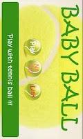 Screenshot of Baby play ball (tennis) -NoAD