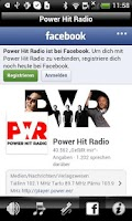 Screenshot of Power Hit Radio