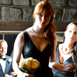 Bridesmaids Entering by Karyn Leong - Wedding Other (  )