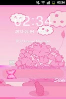 Screenshot of GO Locker Theme Pink Cat