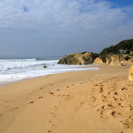 Sta Eulália by Gil Reis - Landscapes Beaches ( sand, beaches, nature, sea, travel, portugal, sun )
