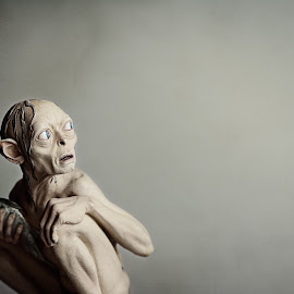 gollum  by Cynthia Linderbeck - Novices Only Objects & Still Life (  )