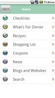 Screenshot of Gluten Free Checklist
