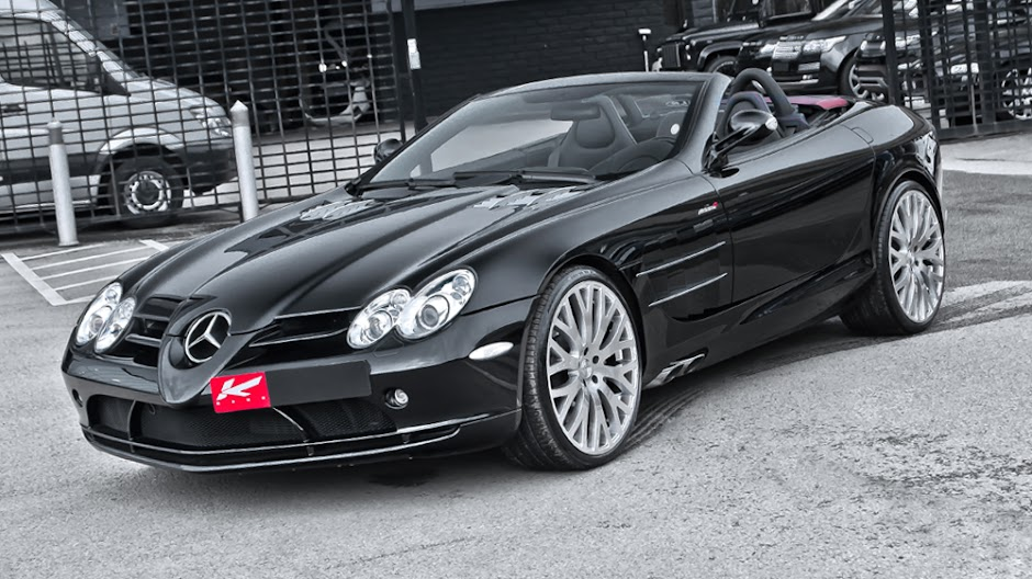 Kahn designs Mercedes-Benz SLS McLaren Roadster