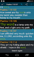 Screenshot of Bible KJV