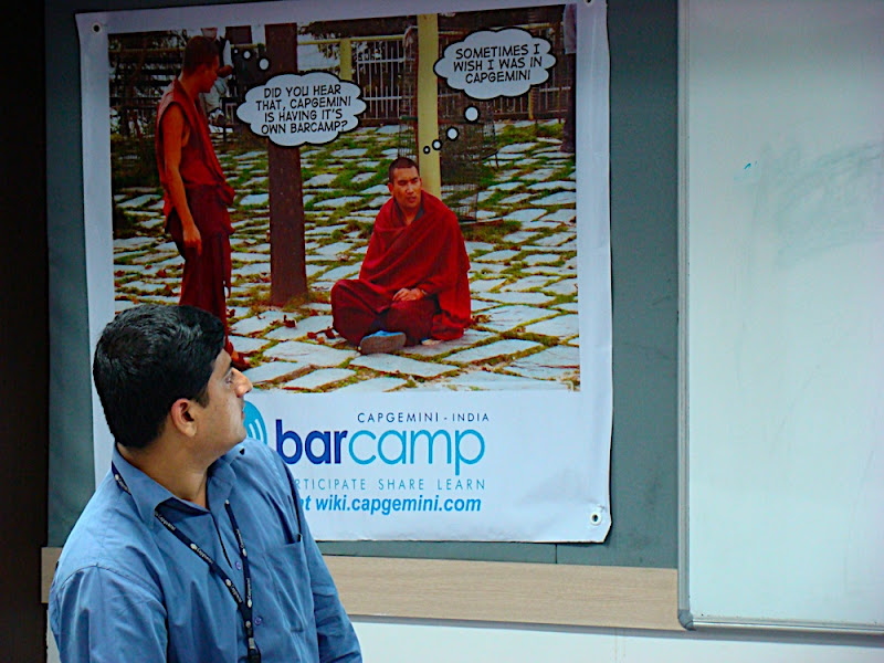 Barcamp Capgemini Session Tarun Chandel Photoblog