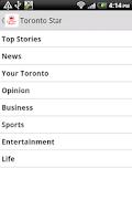 Screenshot of Canada Newspaper