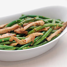 Easy Stir-Fried Pork With String Beans