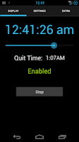 Screenshot of Shower Clock