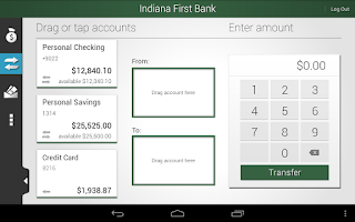 Screenshot of Indiana First Bank