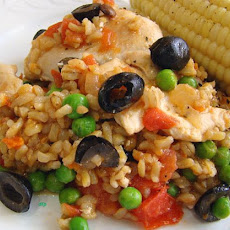 So Easy Arroz Con Pollo (Spanish Chicken and Rice)