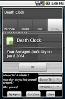 Screenshot of Death Clock