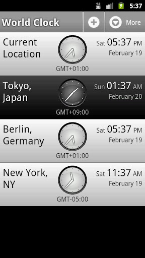 【免費旅遊App】Perfect World Clock-APP點子