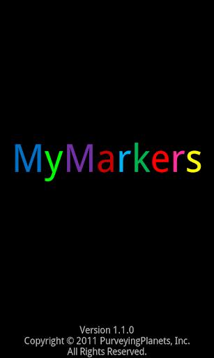 MyMarkers - screenshot