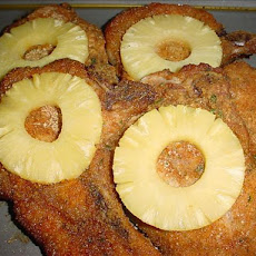 Oven-Baked Pineapple Pork Chops