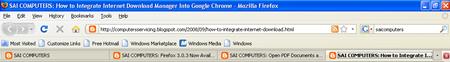 Firefox tabbar
