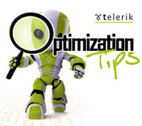 Telerik Optimization Tips