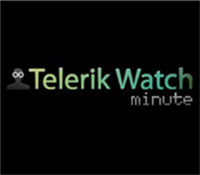 Telerik Watch Minute video updates
