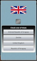 Screenshot of Logo Quiz - National Flags