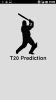 Screenshot of T20 Prediction
