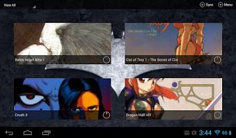 Screenshot of Open Comic Reader