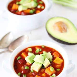 Slow Cooker Vegan Sweet Potato Chili