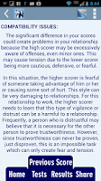 Screenshot of Know Your Relationships Tests