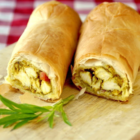 10 best chicken phyllo pastry recipes yummly for Phyllo dough recipes appetizers indian